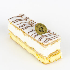 Mille feuille creme chantilly et creme patisiere