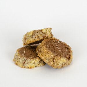 Biscuit diamant au chocolat