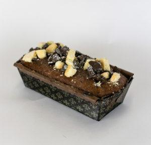 quatre quart double chocolat cake