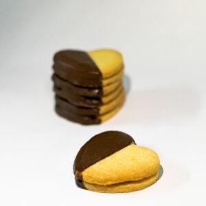 coeur biscuit praline chocola